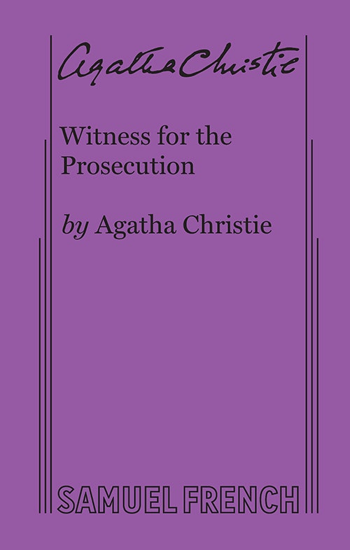 Witness For The Prosecution Agatha Christie Pdf