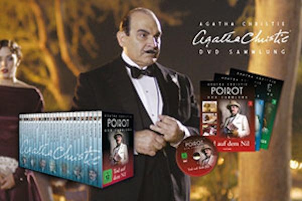 Agatha Christie DVD Sammlung in Deutschland