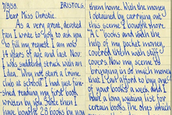 #125Stories - Fan letters uncovered from the archive