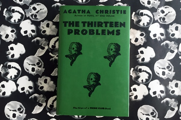 Book of the Month: The Thirteen Problems