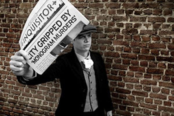 The Monogram Murders Newspaper