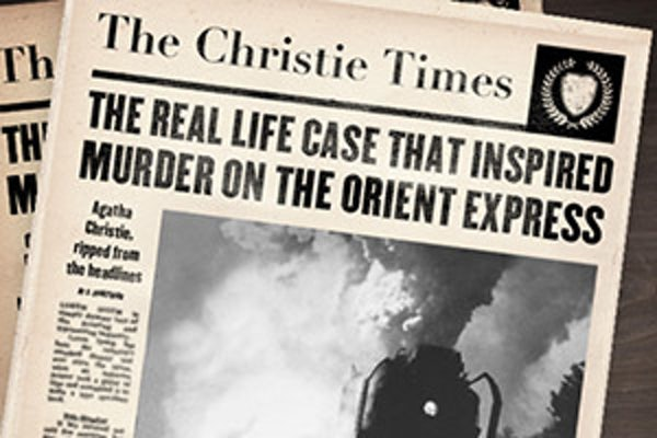 The case that inspired Murder on the Orient Express
