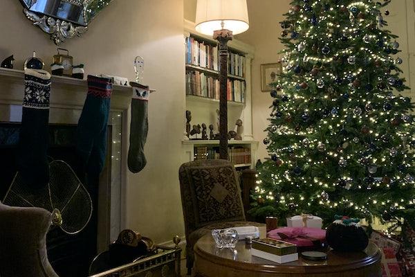 Greenway Library at Christmas: A Puzzle