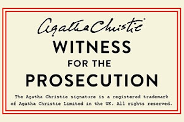 Witness for the Prosecution - See You In Court
